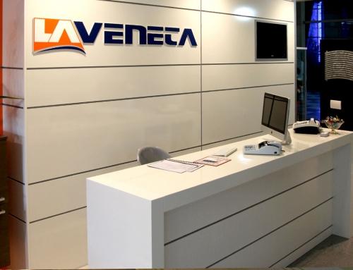 Allestimento negozio La Veneta