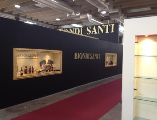 Biondi Santi stand Vinitaly