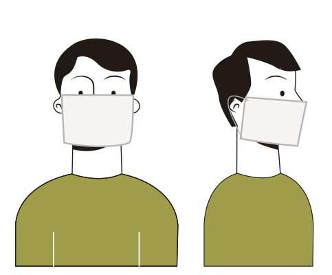 Mascherina filtrante ad uso preventivo